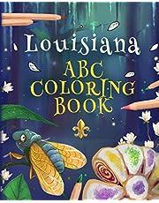 Louisiana ABC Coloring Book