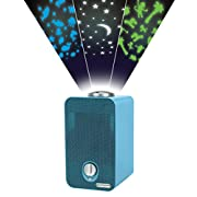 GermGuardian AC4150BLCA Night-Night 4-in-1 Air Purifier, HEPA Filter, UV-C Sanitizer, Captures Allergens, Smoke, Odors, Mold, Dust, Germs, Pets, Smoker, Projector, Germ Guardian Home Air Purifier