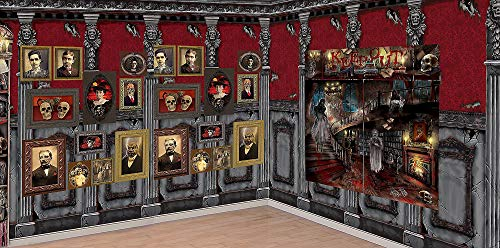Scene Setter Rolls - Party City Haunted Library Scene Setter