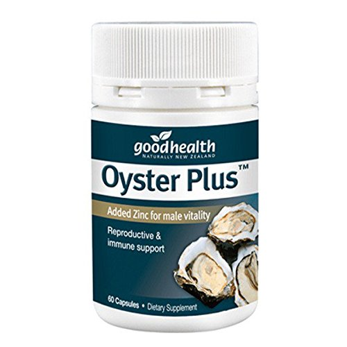 Goodhealth Zinc Plus Oyster Extract 60 capsules imported from New Zealand