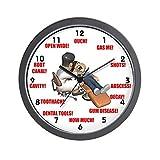 CafePress – Dentist – Unique Decorative 10″ Wall Clock For Sale
