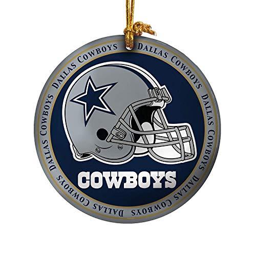 NFL Dallas Cowboys Ceramic Plate Ornament