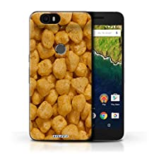 STUFF4 Phone Case / Cover for Huawei Nexus 6P / Golden Nuggets Design / Breakfast Cereal Collection