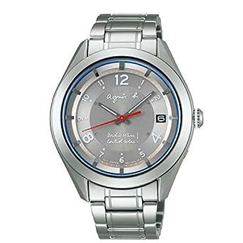 35fe41ce73 Amazon | アニエスベー(ウオッチ)(agnes b.) メンズ時計(マルセイユ ソーラー電波ウオッチ[型番:FBRY994])【グレー/**】  | メンズ腕時計 | 腕時計 通販