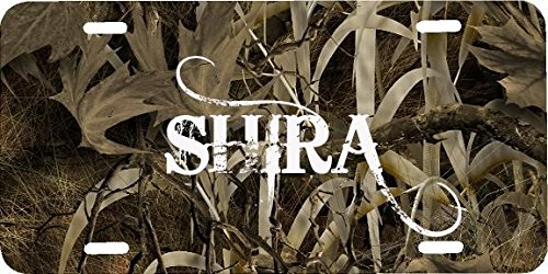 Price comparison product image Any and All Graphics SHIRA name on camouflage camo novelty license plate sign