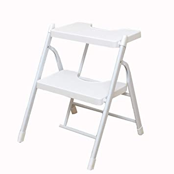 Excellent Amazon Com Step Ladders Folding 2 Layer Heavy Duty Metal 2 Pabps2019 Chair Design Images Pabps2019Com