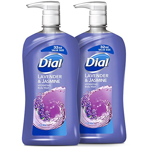 Dial Body Wash, Lavender & Jasmine, 32 Ounces (Pack of (Lavender Gel)