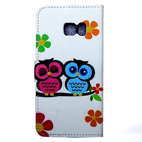 Fashion & personality Para la galaxia C5 de Samsung patrón patrón de la caja de cuero con el sostenedor y las ranuras para tarjeta y la cartera ( SKU : SAS0077A ) SAS0077Q