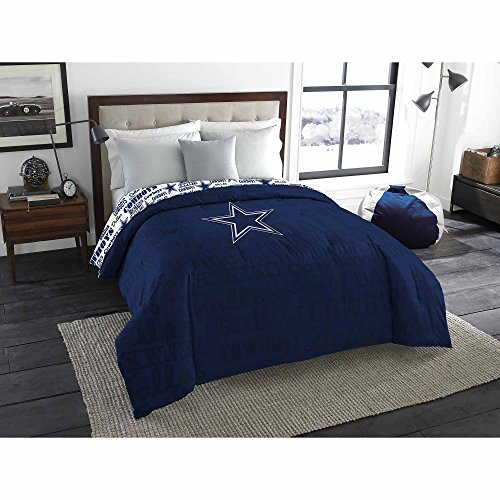 NFL Dallas Cowboys Twin Comforter and Sheet Set Bedding Collection