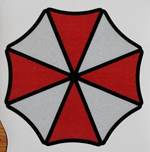 2x Umbrella Corporation Logo Sticker Decal Aufkleber 10cm Digital Print Resident Evil Windscreen Movie JDM DUB Auto Car Racing Notebook Laptop