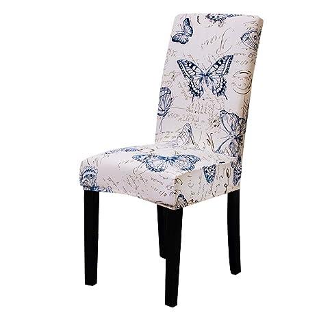 Biback Funda de Silla elástica para sillas, Madera con ...