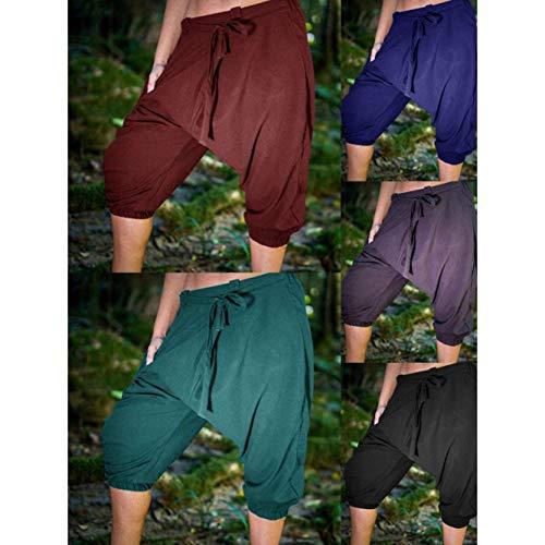 Hommes Shorts En Élastique Pour Ballon Vrac Loisir Lanterne De Mode Avec À Sport Chic 4 Facile Pantalon Schwarz Haremshose Pantalons 3 5FAqv