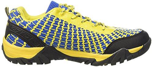 Escalada al aire libre Caminar a pie Zapatos deportivos Viajes biking camping hiking Zapatos de hombre (yellow, 7UK / 41EU)