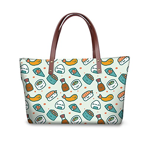 Women Print Handbags FancyPrint Fruit V6lcc4111al Bags Casual Shoulder wOCCI5Uxq