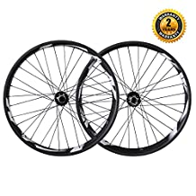 ICAN 26er Fat Tire Bike Carbon Clincher Tubeless Ready 90mm Width Rim 32 Holes Novatec Hub Shimano 10/11 Speeds Thru Axle 135×15mm 190×12mm