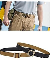 LefRight(TM) 1.5-in Reversible Tactical Nylon Web Adult's Double Duty TDU Belt Black/Tan