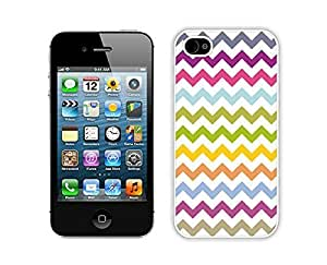 Case For Iphone 5C Cover Durable Soft Silicone PC Multi Grunge Chevron Pattern Colorful White Cell Phone Accessories for Iphone 5C