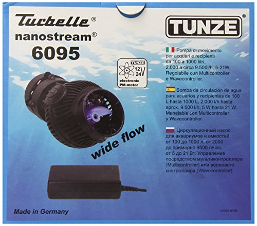 Tunze USA 6095.000 Nano Stream Propeller Pump, Features Electronic Speed Control, 2500-Gallon by Tunze USA LLC