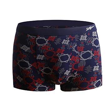 YUCH Invierno transpirable Hombres sólo la ropa interior para hombre pantalones de cadera con modal,