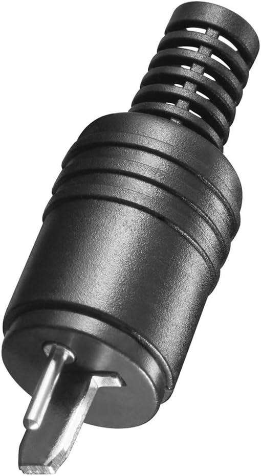 Bestplug 2 Poliger Stereo Audio Lautsprecher Boxen Elektronik