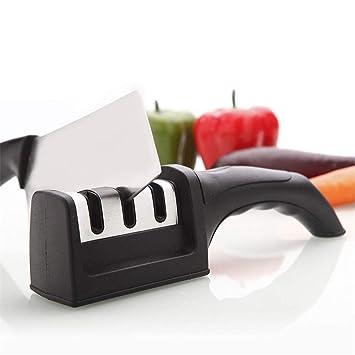 LLG-MDQ King - Afilador de Cuchillos de Cocina Negro - La ...