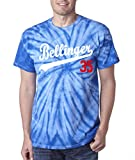 "The Silo BLUE TIE-DYE Los Angeles Bellinger ""35"" T-Shirt"