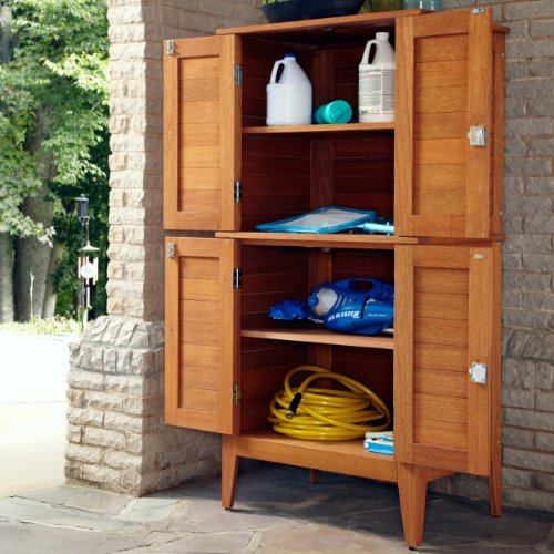 cabinets cedar outdoor furniture your tv for garden storage cabinet waterproof