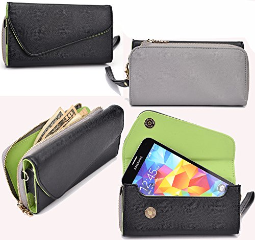 NuVur All in One Universal Wallet Clutch Smartphone Case ...