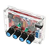 Festnight ICL8038 High Precision Signal Generator DIY Kit Sine/Triangle/Square/Sawtooth Output 5Hz~400kHz Adjustable Frequency Amplitude