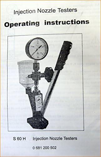 Test Pressione per Ugelli Iniettori Motori Diesel da Macchina e Camion 449949