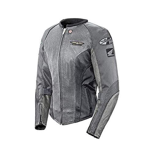 Joe Rocket 'Skyline 2.0' Womens Silver/Grey Mesh Motorcycle Jacket - Medium