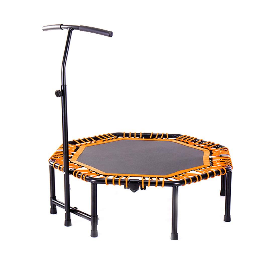 フィットネスRebounder屋内ミニトランポリンウィズ調節可能な手すりジャンプマットコンプリートセット8脚ボディエクササイズバウンス容量に200キログラム子供のおもちゃバンジーデザイン   B07T4GNGXW
