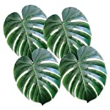Beistle 54556 Tropical Palm Leaves, 13-Inch, Count-4, Green