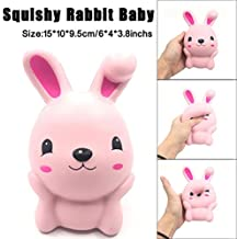 Jumbo Squishy Toy, Bunny Squishies Slow Rising Squeeze Decompression Toy Novelty Kids Gift