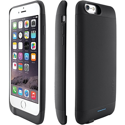 san francisco 18fcd 0452e iBattz iPhone 6 Invictus 3,200Mah Battery Charger Case - Black