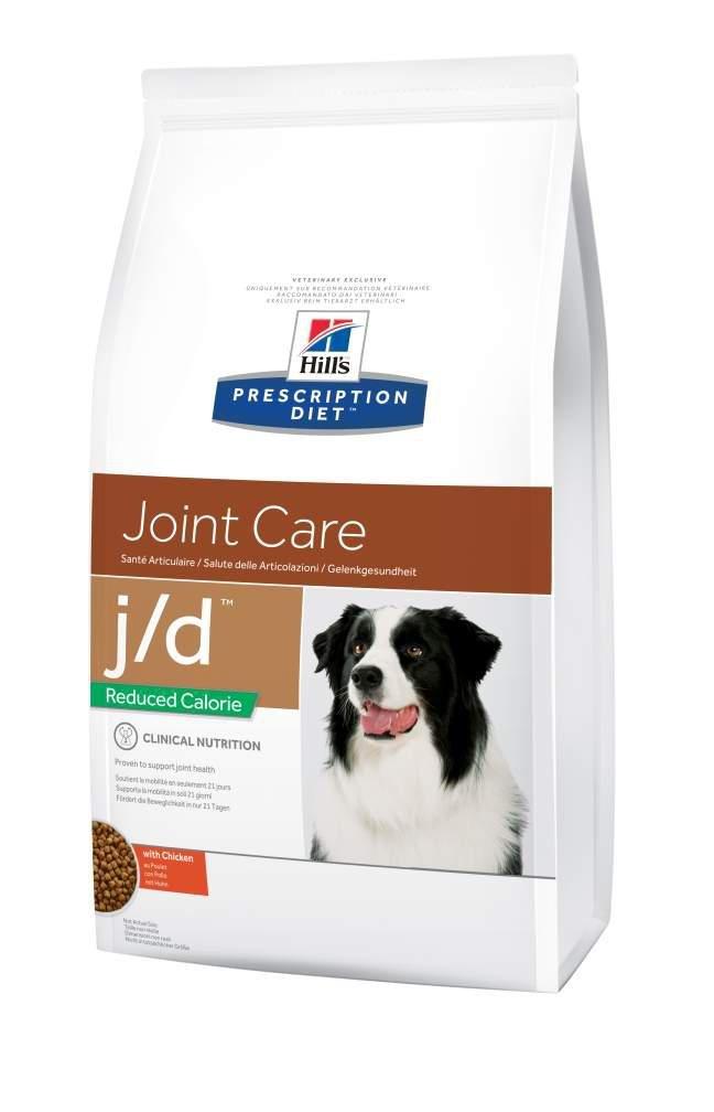 Hill's Prescription Diet Canine J/D Santé Articulaire Nourriture pour Chien Croquettes Calorie Réduite 12kg Poulet Hill' s 052742613901