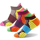 Cheap Women's Cycling Ankle Socks,Getspor Dry Tab Sock Athletic Running Socks Low Cut 3 Pairs