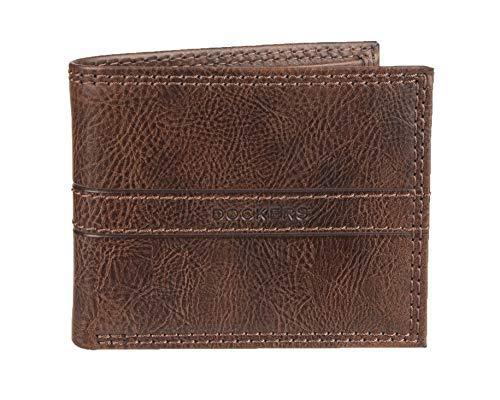 - Dockers Men's Extra Capacity Slimfold Wallet, tan, One Size