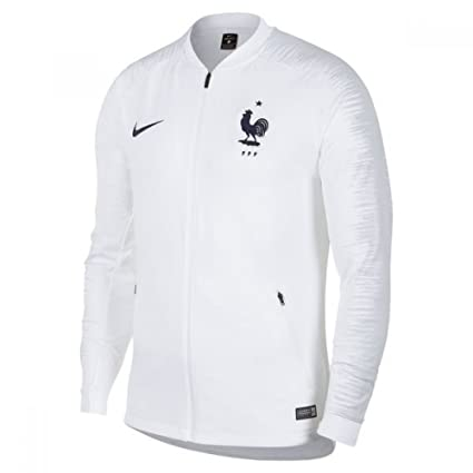 0c7ac72d08a Image Unavailable. Image not available for. Color  Nike 2018-2019 France  Anthem Jacket ...
