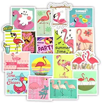 Flamencos Sticker Lovely Dream Cartoon Girl Stickers para niños ...