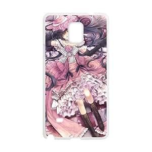 Samsung Galaxy Note 4 phone case White Black Butler FFFP2661693