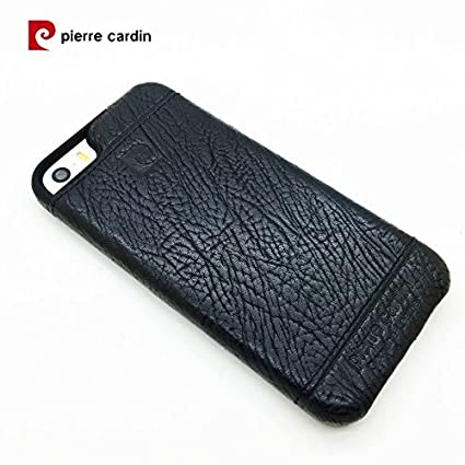the best attitude 4f4bb 20e15 Pierre Cardin Leather Back Cover Case Shell Cover for: Amazon.in ...