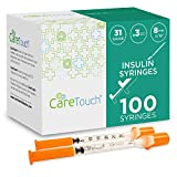 Care Touch - CTIS313 Insulin Syringes | 31g