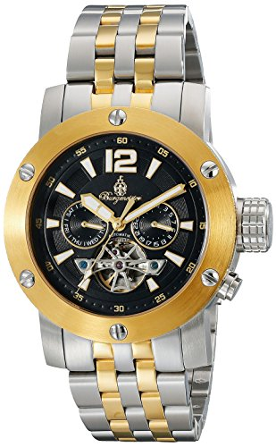 Burgmeister Men's BM329-227 Analog Display Automatic Self Wind Silver Watch