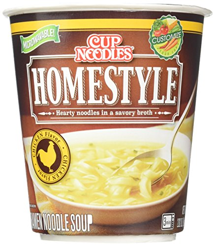 Nissin Food Big Cup Noodles, Chicken, 2.82 Ounce (Pack of 6) by Nissin