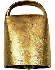 Imex El Zorro El Zorro 22008 IJzeren koeienbel, 10 x diameter 5,3 cm, goudkleurig, 22008