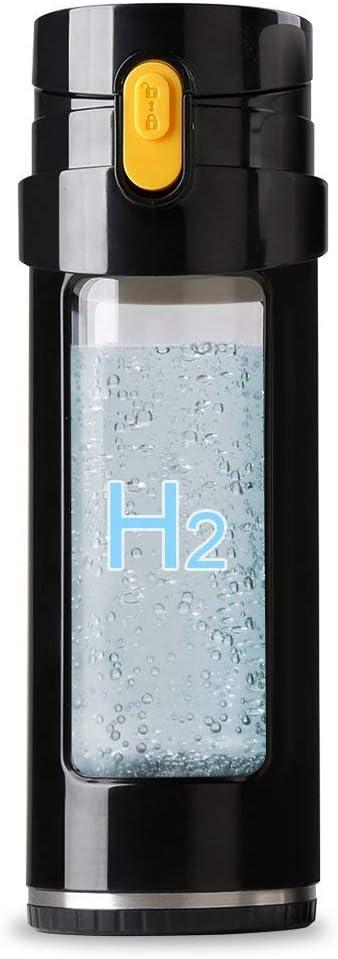 [GOSOIT Hisoit] [GOSOIT Hisoit Hydrogen Water Bottle,Water Ionize Hydrogen Alkaline Water Generator Maker Machine Portable Water Bottle Filter Travel Cup] (並行輸入品)