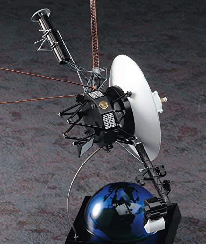 Hasegawa 1/48 science world no person space probe VoyageryJapanese plastic modelz 4