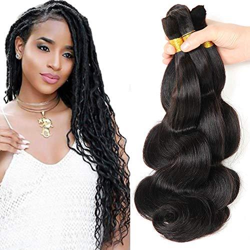 New 2016 Grade 7a Micro mini Braiding Hair Brazilian Bulk Hair For Braiding 3 Bundles Lot 100% Human Wet And Wavy Brazilian Braiding Hair(16