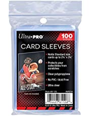 Ultra Pro AW1365 Standard Soft Sleeves 100pk, Clear